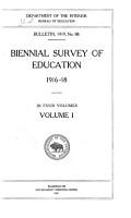 Biennial Survey of Education PDF