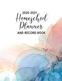 2020 2021 Homeschool Planner   Record Book