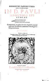 In D. Pauli Apostoli Epistolas Ad Philippenses, Ad Colossenses Ad Thessalonicenses, Commentarii
