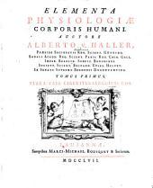 Elementa Physiologiae Corporis Humani: Fibra, Vasa, Circuitus Sanguinis, Cor. 1