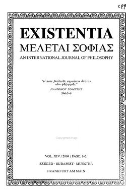 Existentia PDF