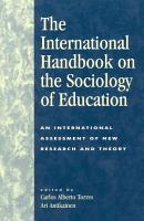 The International Handbook on the Sociology of Education PDF