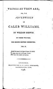 Things as they are; or, The adventures of Caleb Williams