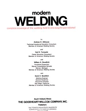 Modern Welding PDF