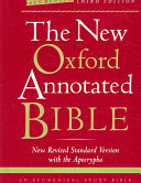 The New Oxford Annotated Bible with the Apocrypha  Augmented Third Edition  New Revised Standard Version