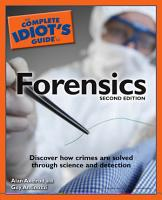 The Complete Idiot s Guide to Forensics  2E PDF