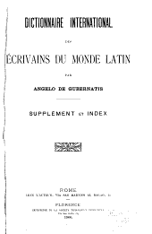 Dictionnaire international des écrivains du monde latin: Volume 2
