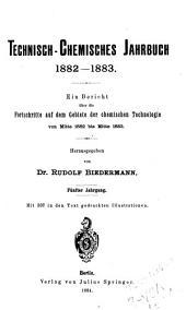 Technisch-chemisches jahrbuch: Band 5