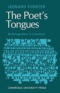 The Poets Tongues  Multilingualism in Literature PDF