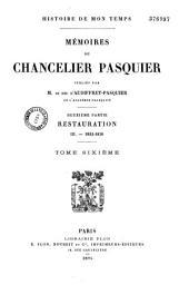 Mémoires du Chancelier Pasquier: Volume5