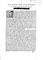 Al beatissimo Givlio terzo papa [...] Il Genesi l'Humanita di Christo, & i Salmi: Parte 2