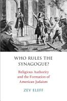 Who Rules the Synagogue  PDF