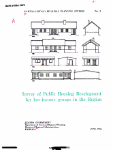 Kampala Mengo Regional Planning Studies  Survey of public housing development for low income groups in the region PDF