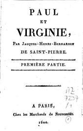 Paul et Virginie: Volume1