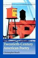 The Cambridge Introduction to Twentieth Century American Poetry PDF