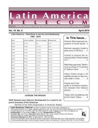 Latin America Telecom Monthly Newsletter 04 10 Book PDF
