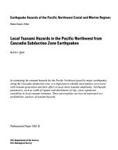 Local tsunami hazards in the Pacific Northwest from Cascadia subduction zone earthquakes: Part 2