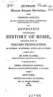 Eutropius' Compendious history of Rome