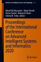 Proceedings of the International Conference on Advanced Intelligent Systems and Informatics 2020 PDF