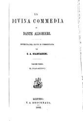 La divina commedia, riveduta e comm. da G.A. Scartazzini: Volume 3