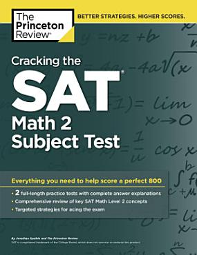 Cracking the SAT Math 2 Subject Test PDF