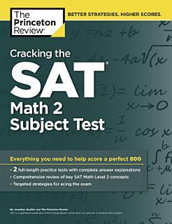 Cracking the SAT Math 2 Subject Test Book