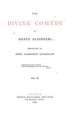 The divine comedy, tr. by H.W. Longfellow: Volume 3