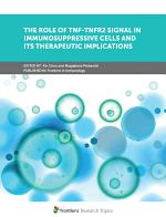 The Role of TNF-TNFR2 Signal in Immunosuppressive Cells and its Therapeutic Implications