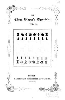 Chess Player s Chronicle PDF