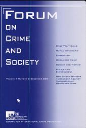 Forum on Crime and Society 2001