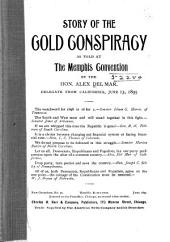 The Story of the Gold Conspiracy: As Told at the Memphis Convention