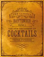 The Curious Bartender Volume II PDF