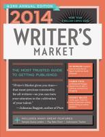 2014 Writer s Market PDF
