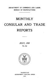Monthly Consular and Trade Reports: Issues 346-348