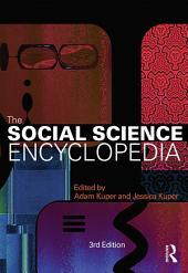 The Social Science Encyclopedia: Edition 3