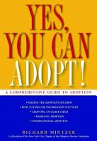 Yes  You Can Adopt  PDF