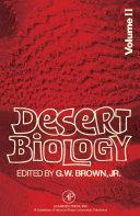 Desert Biology