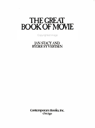 The Great Book Of Movie Monsters Book PDF