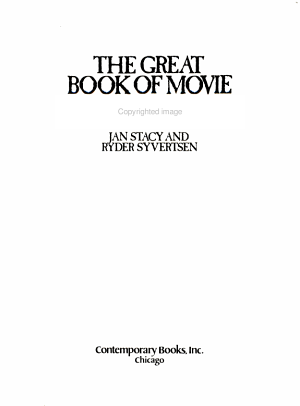 The Great Book of Movie Monsters PDF