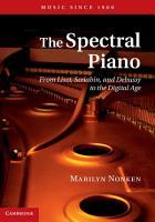 The Spectral Piano PDF