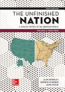 Looseleaf for The Unfinished Nation  A Concise History of the American People