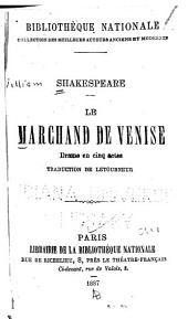 Le marchand de Venise: drame en cinq actes