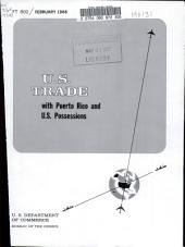 U.S. Trade with Puerto Rico and U.S. Possessions