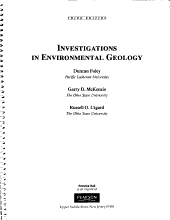 Investigations in Environmental Geology PDF