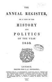 Annual Register: Volume 95