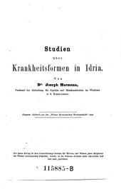 Studien über die Krankheitsformen in Idria