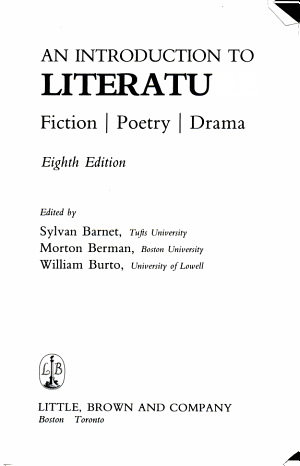 An Introduction to Literature PDF