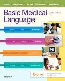 Basic Medical Language with Flash Cards PDF