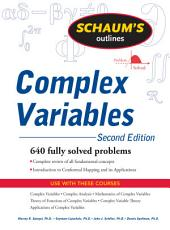 Schaum's Outline of Complex Variables, 2ed: Edition 2