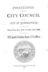 Proceedings of the City Council of the City of Minneapolis, Minnesota, ...: Volume 5